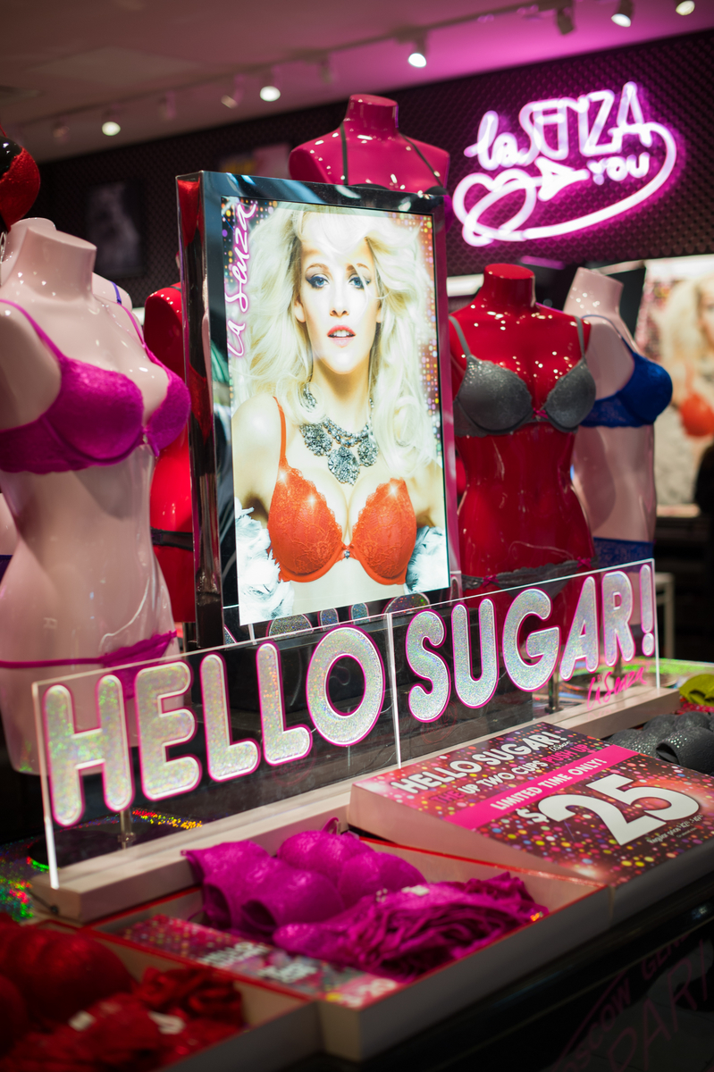 La Senza s Red Hot Holiday Collection   Hello Sugar! Launch  503fc4f9d